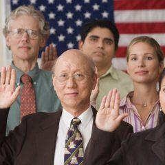 Juramento para obter cidadania americana